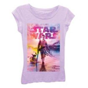 Star Wars Rey Girl's T-Shirt Tee